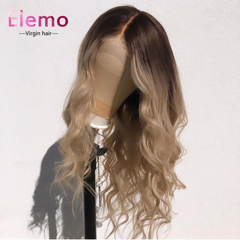 Highlight T2/60 Undetectable Transparent Lace 13x6 Glueless Front Lace Wig