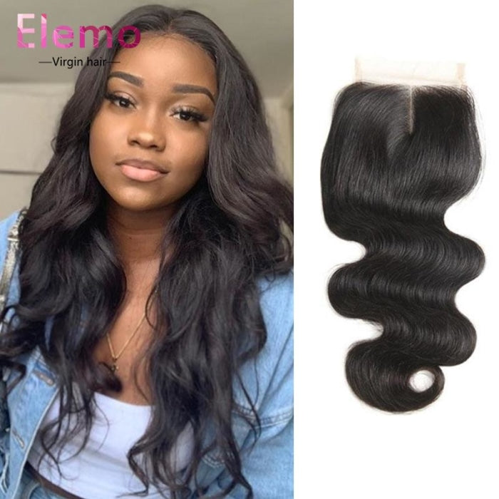 Peruvian Body Wave Hair 3 Bundles+Closure Virgin