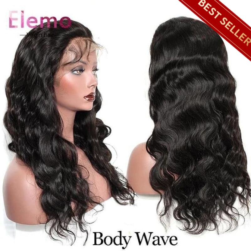 Pre-Plucked 360 Lace Frontal Wig 100% Human Hair