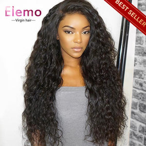 Pre-Plucked 360 Lace Frontal Wig 100% Human Hair Virgin