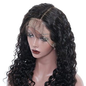 Pre-Plucked Deep Wave Best Grade Full Lace Wig