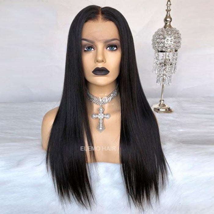 Undetectable Pre-Make Fake Scalp Glueless 13×6 Lace Front Wig