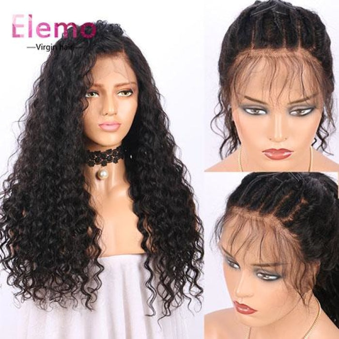 water wave lace closure wig