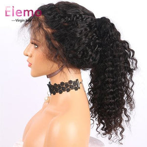 water wave closure wig