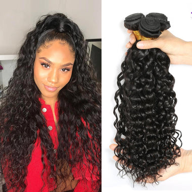 Peruvian Water Wave Virgin Hair Bundles 3PCS/Lot
