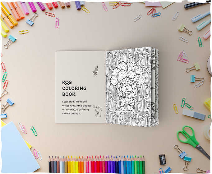 KOS Coloring Book