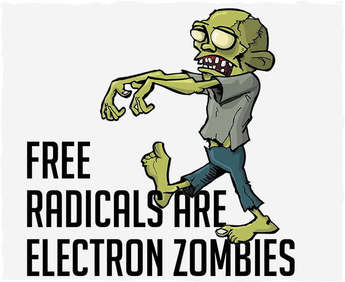 Free Radicals Are Electron Zombies