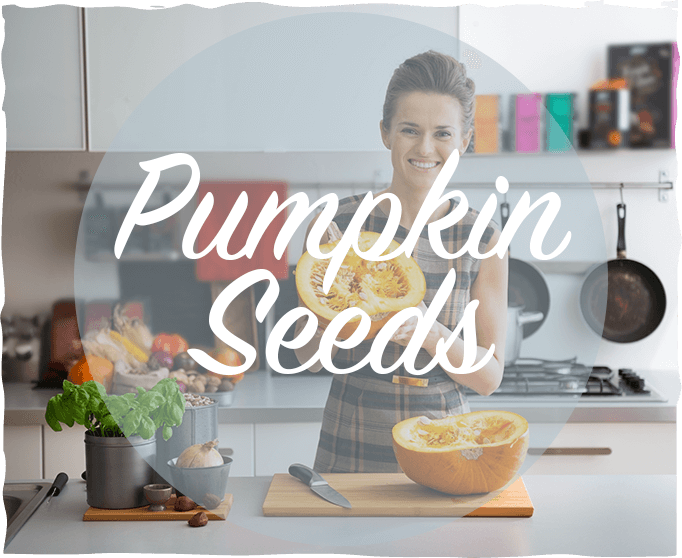 Pumpkin Seeds. No, Seriously.