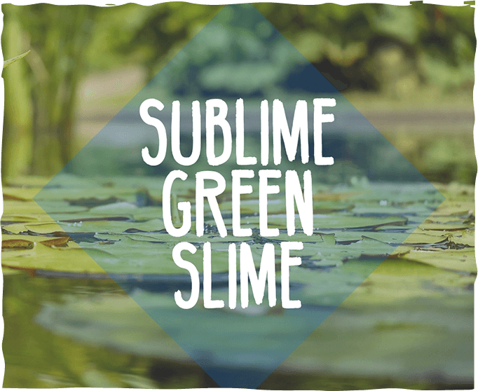 Chlorella: Sublime Green Slime