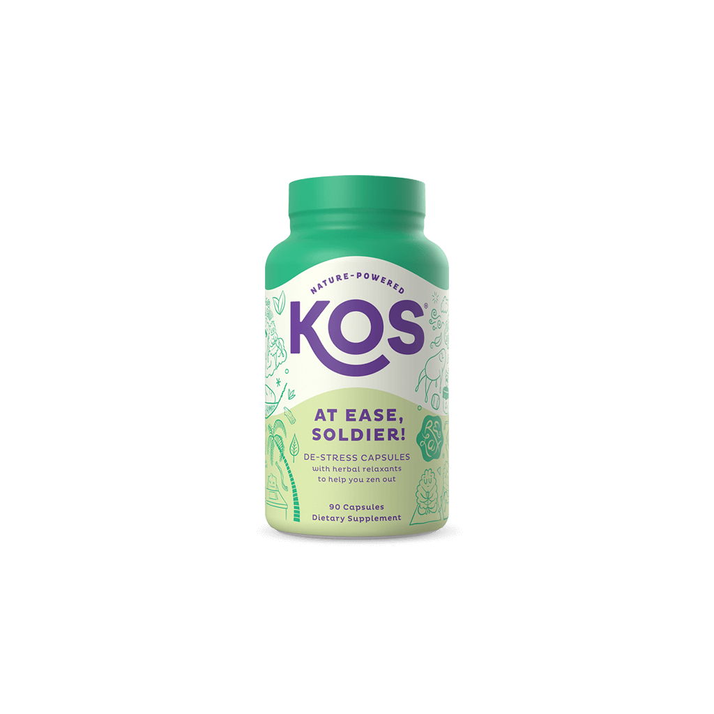 KOS At Ease, Soldier! - Calm and Stress Relief Capsules