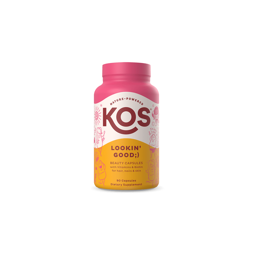 KOS Lookin' Good - Hair, Nail and Skin Support Capsules