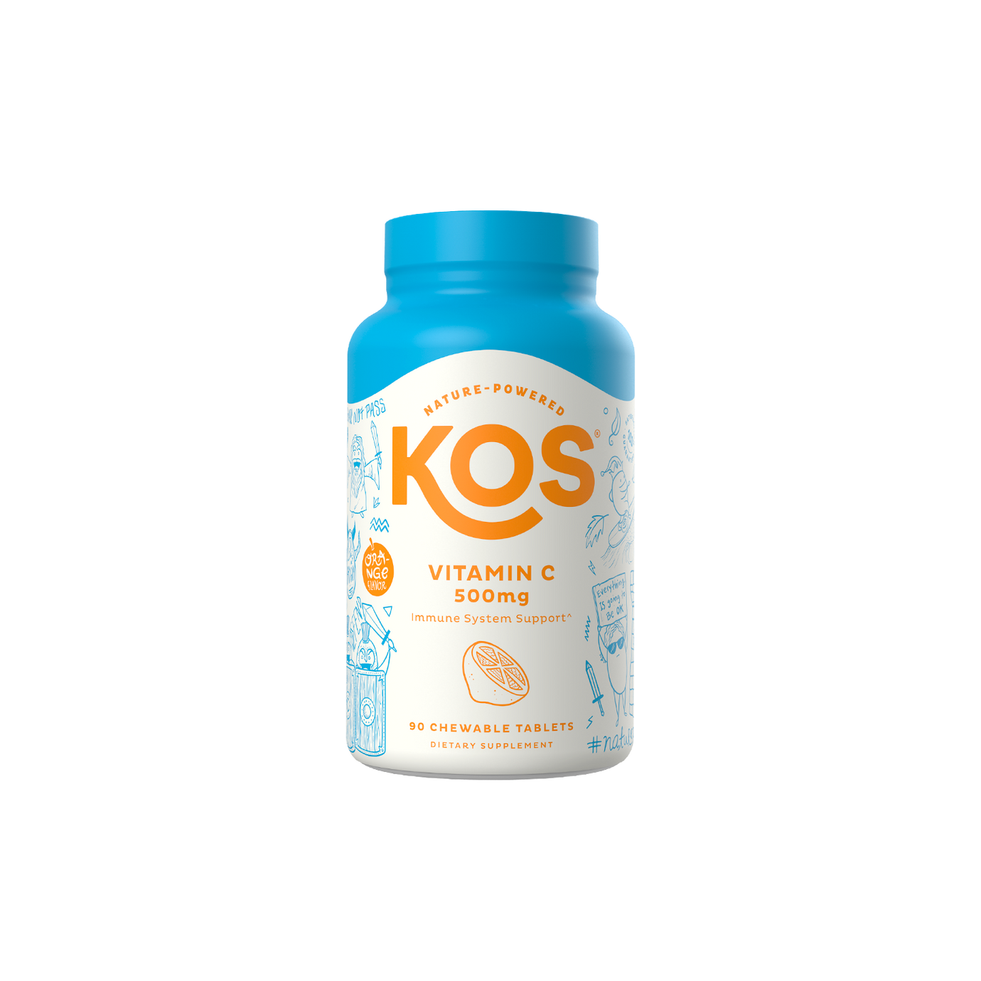 KOS Vitamin C 500mg Chewable Tablets