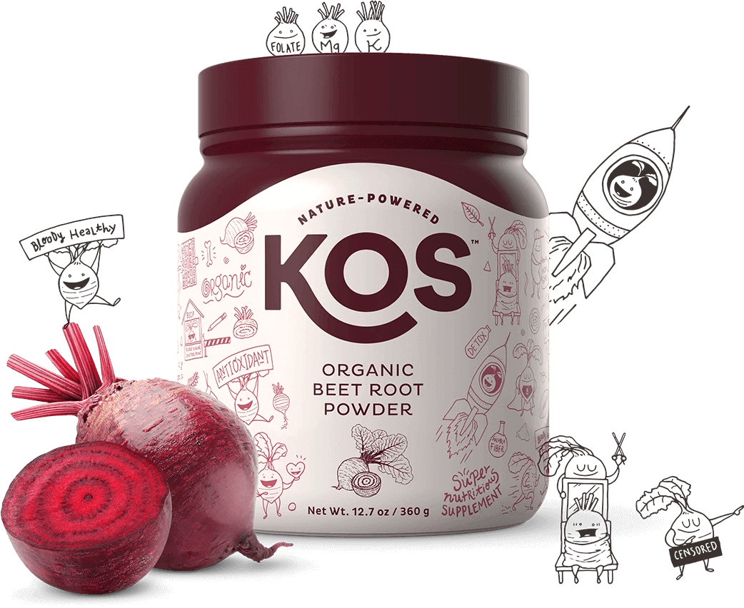 KOS Organic Beetroot Powder