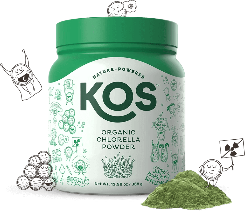 KOS Organic Chlorella Powder