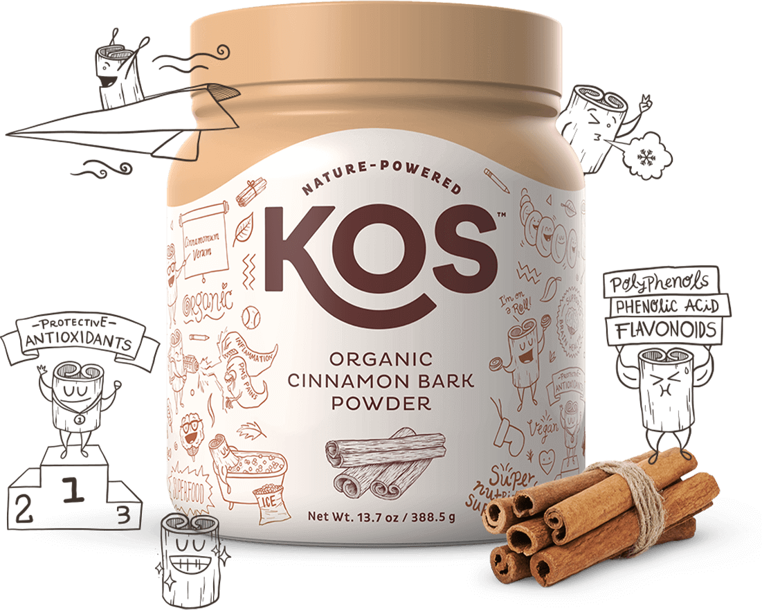 KOS Organic Cinnamon Bark Powder