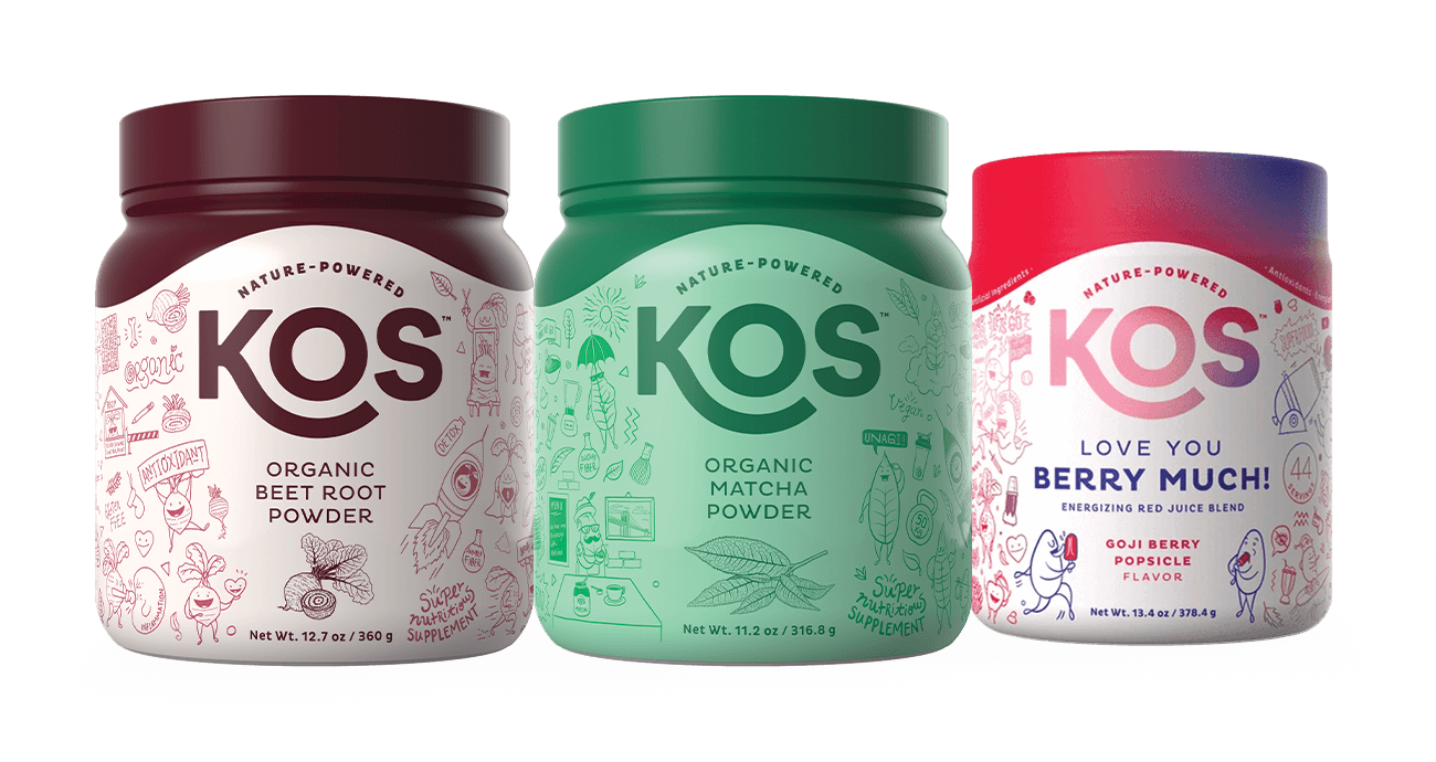 KOS Natural Energy Bundle