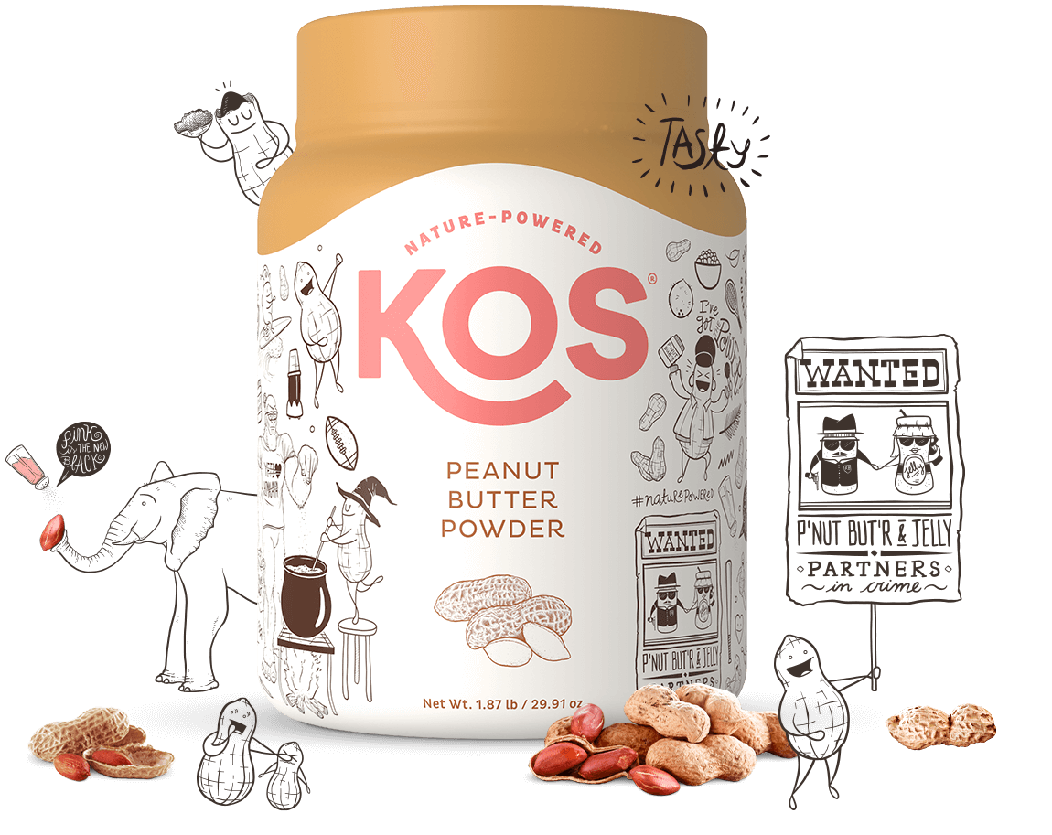 KOS Peanut Butter Powder