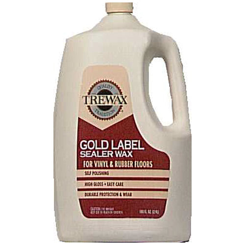 Trewax  887137100 Gold Label Sealer Wax, 100 Oz