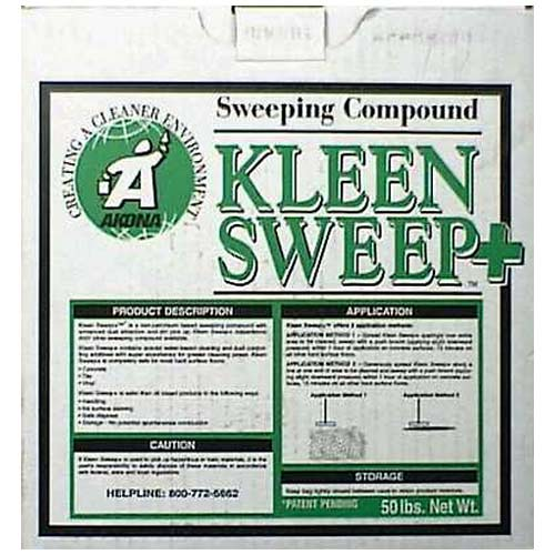 Kleen Sweep+ 1812 Sweeping Compound, 50 lbs