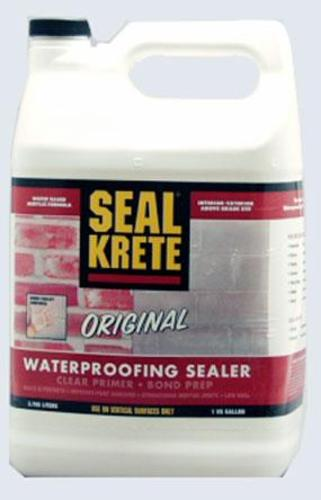 Seal Krete 100001 Waterproofing Primer & Sealer, 1 Gal