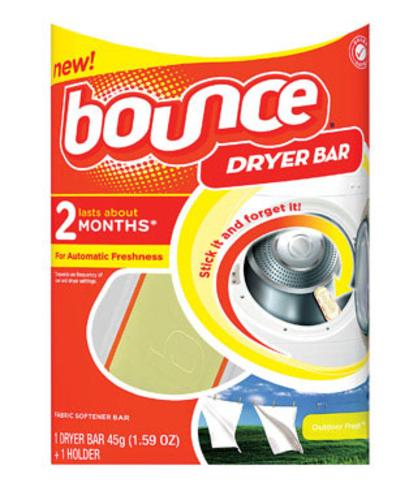 Procter & Gamble 24189 Bounce Dryer Bar 2 Month