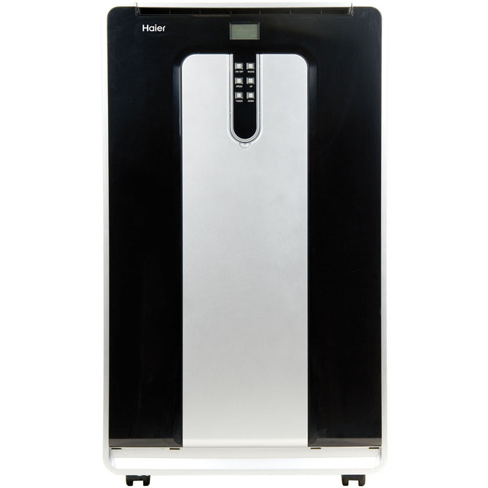 Haier HPND14XHT Portable Air Conditioner With Heat Dual-Hose Dehumidifier, 14,000 BTU