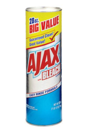 Ajax 05364 Cleanser With Bleach, 28 Oz