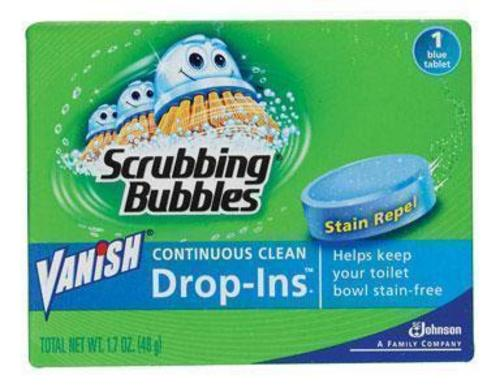Vanish 00191 Toilet Bowl Cleaner, Blue