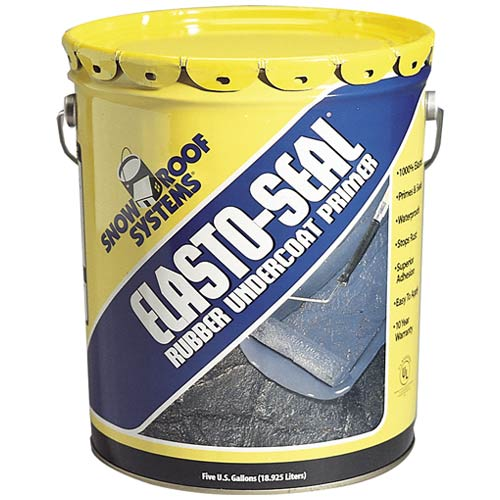 Kst Coating ES-5 Elasto Seal Undercoating Primer, 5 Gallon, Gray