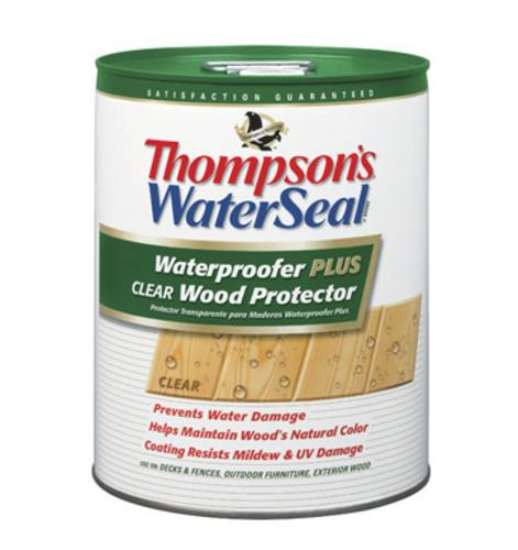 Thompson 11806 Wood Protector, Clear,  6 Gallon