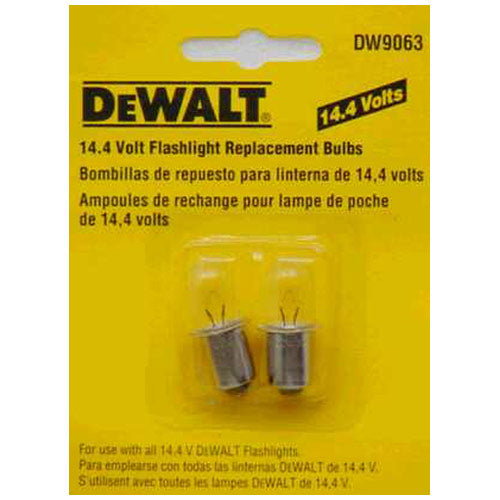 DeWalt DW9063 Flashlight Bulb 14.4V