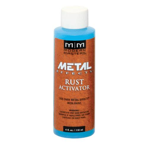 Modern Masters PA904-04 Metal Effects Rust Activator, 4 Oz.