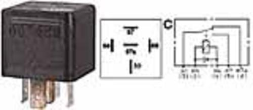 Imperial 72248 Mini (Spdt) Change-Over Relay, 12V, 20/40amp,Per Package of 2