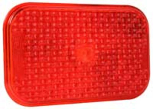 Truck-Lite 81924 Rectangle Replacement Lens, Red