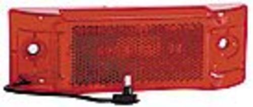 Imperial Incandescent Clearance/Marker Lamp W/Reflective Lens, Red