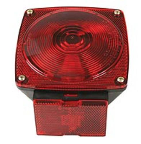 Peterson 80927-2 Combination Stop/Turn/Tail License Lamp, 12 V, Red, Per package of 2