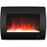 Cambridge CAM26WMEF-1BLK Color Changing Wall Mount Fireplace, Black, 26""