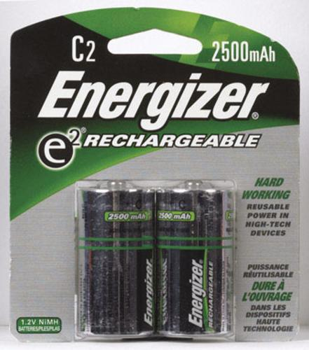 Energizer NH35BP-2(R2) Rechargeable Battery, C