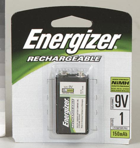 Energizer NH22NBP Rechargeable Battery, 9 Volt