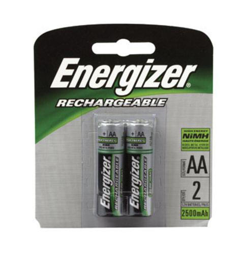 Energizer NH15BP-2 Rechargeable Battery, AA