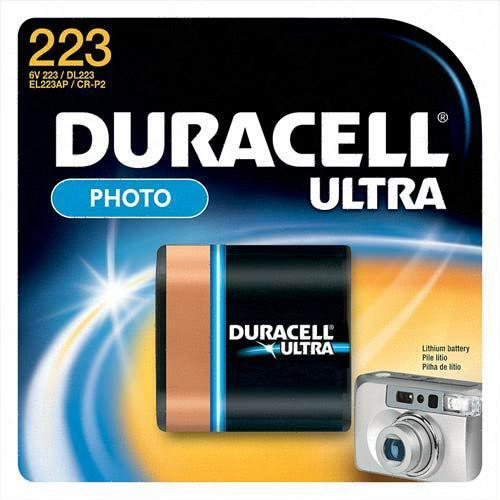 Duracell DL223ABPK Photo Battery, 6 Volt