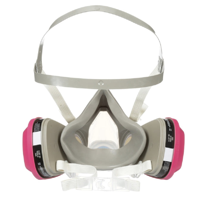 3M 65021HA1-C P100 Multi-Purpose Half Face Respirator, Medium