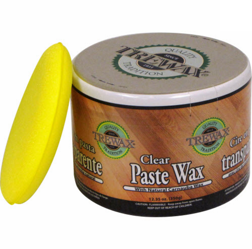 Trewax 887101016 Clear Paste Wax, 1 lbs