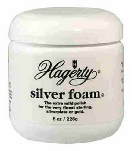 Hagerty 11070-7OZ Silver Foam Polish, 8 Oz
