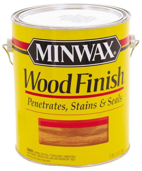 Minwax 71007 Wood Finish Stain, 1 Gallon, Red Mahogany