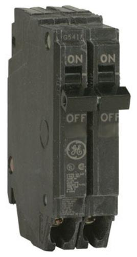 ge thqp220 double pole circuit breaker, 20 amp square d breakers pushmatic 60 amps standard 2 pole