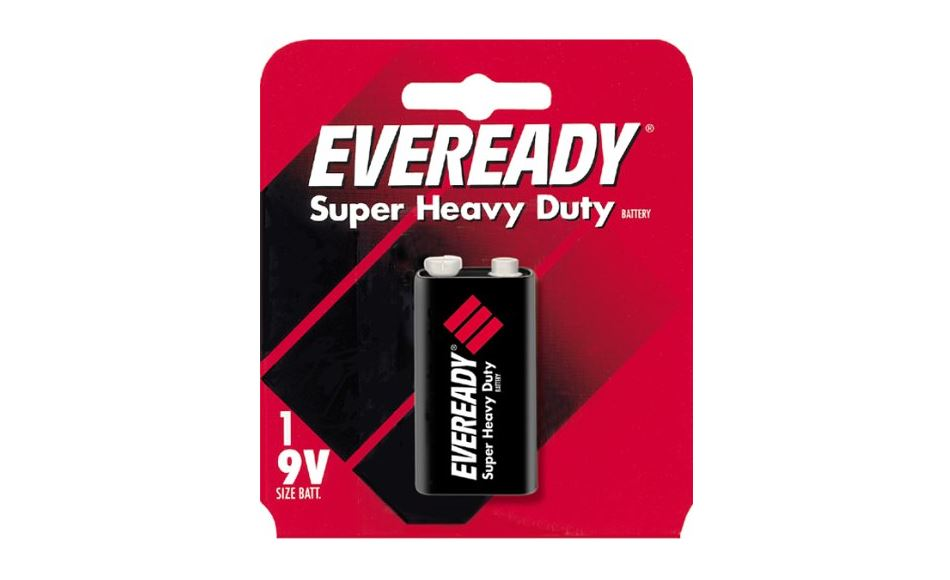 Energizer 1222SW Super Heavy Duty Battery, 9 Volt