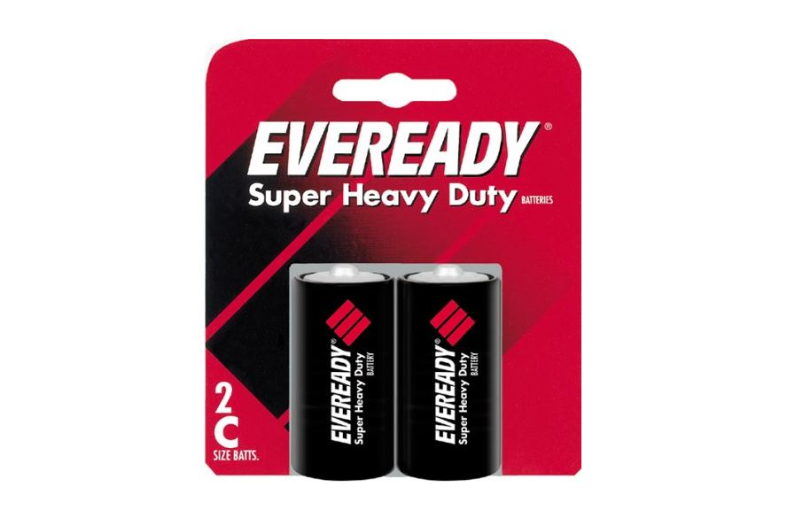 Eveready 1235SW-2 Super Heavy Duty Batteries, 1.5 Volt, 2 / Pack