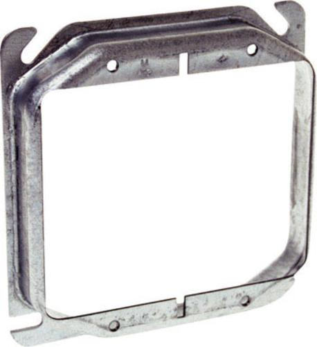 Raco 8769 Raised Square Steel Electrical Box Cover, 4