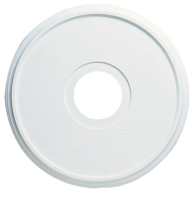 Westinghouse 7703500 Textured White Ceiling Medallion, 16